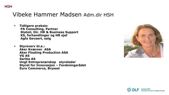 Vibeke Hammer Madsen