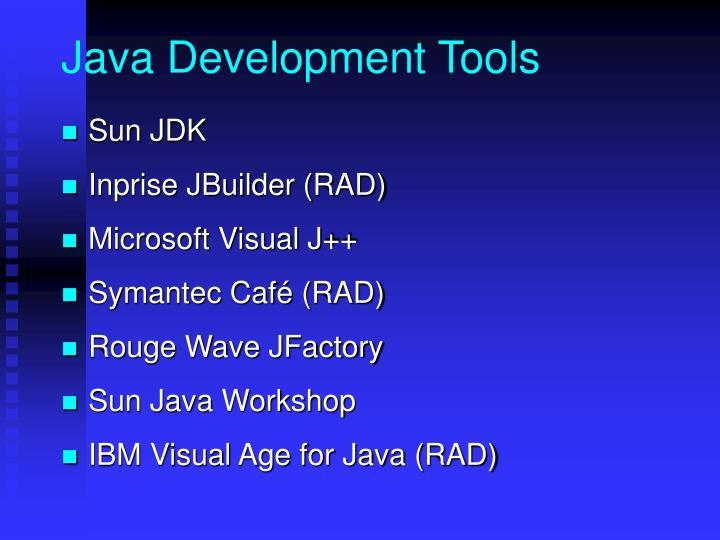 Java Development Tools