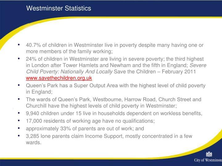 Westminster Statistics