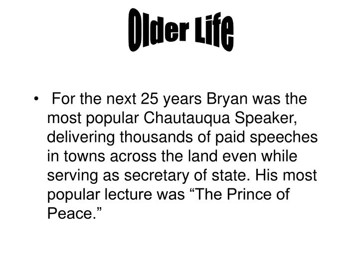 Older Life
