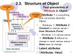 2 2 structure of object