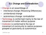 3 3 change and contradiction