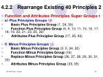 4 2 2 rearrange existing 40 principles 2
