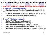 4 2 3 rearrange existing 40 principles 3