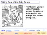 taking care of the baby prince
