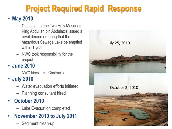 Project Required Rapid  Response