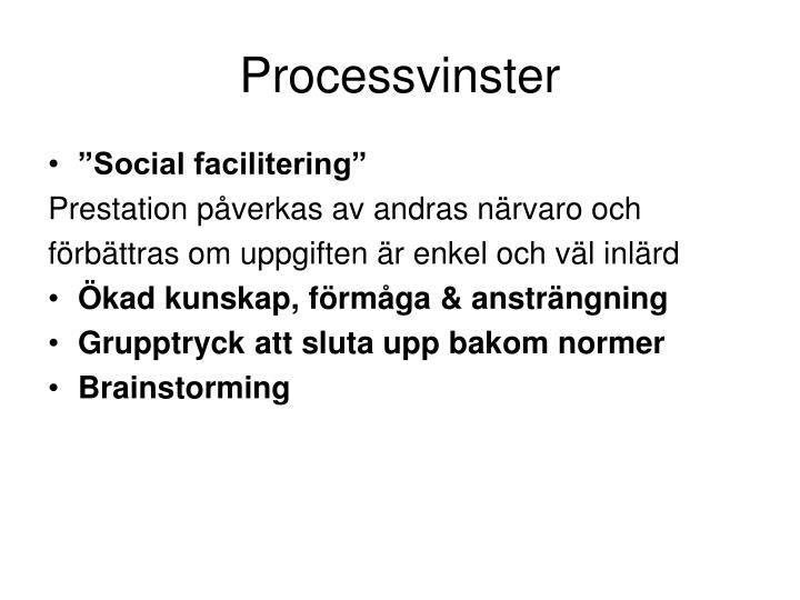 Processvinster