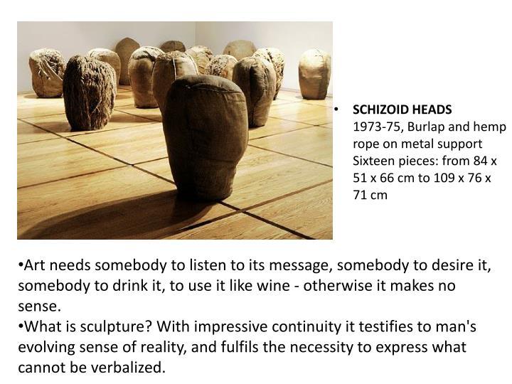 SCHIZOID HEADS