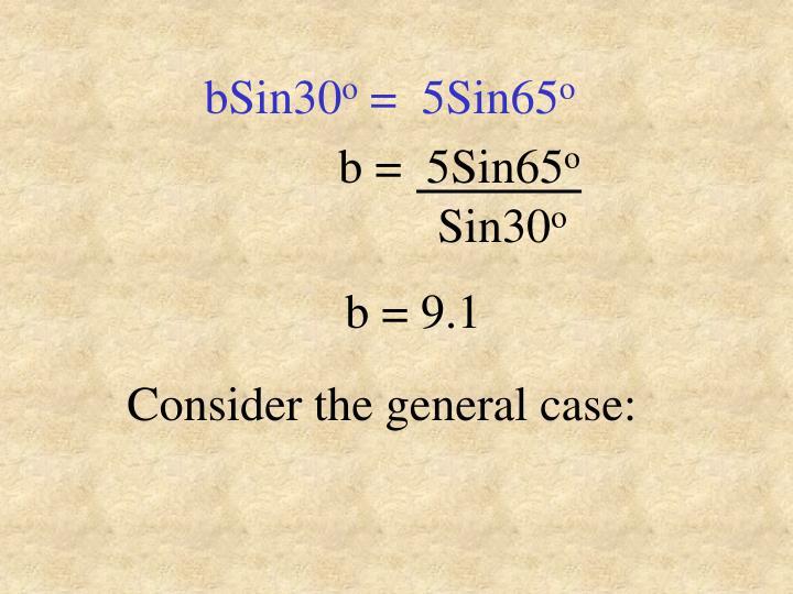 bSin30