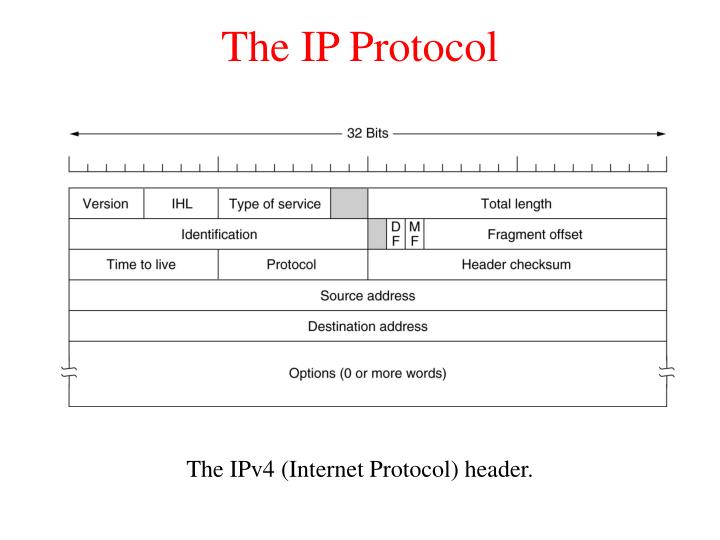 The IP Protocol