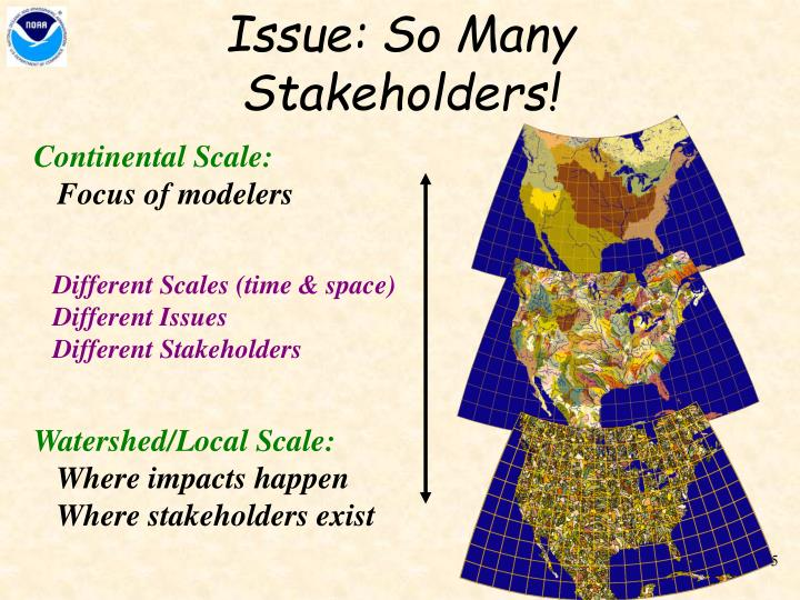 Issue: So Many Stakeholders!