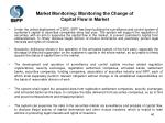 market monitoring monitoring the change of capital flow in market