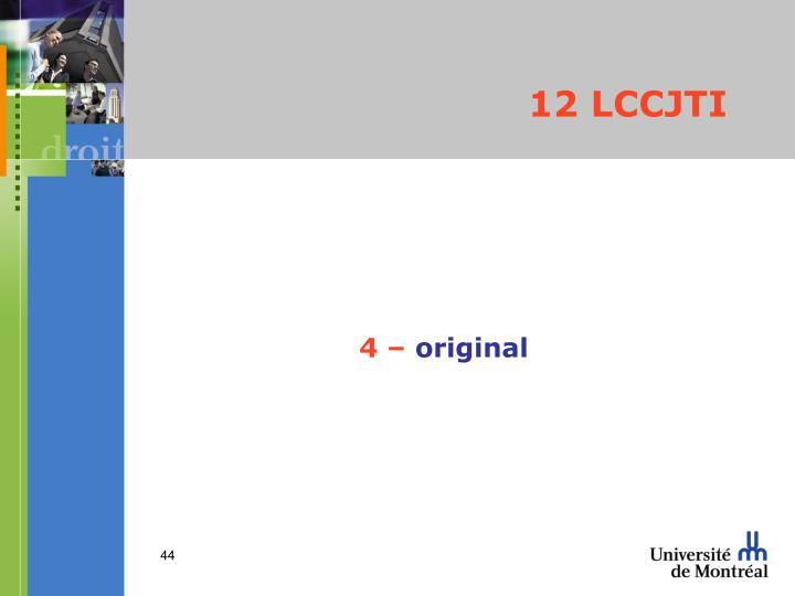 12 LCCJTI