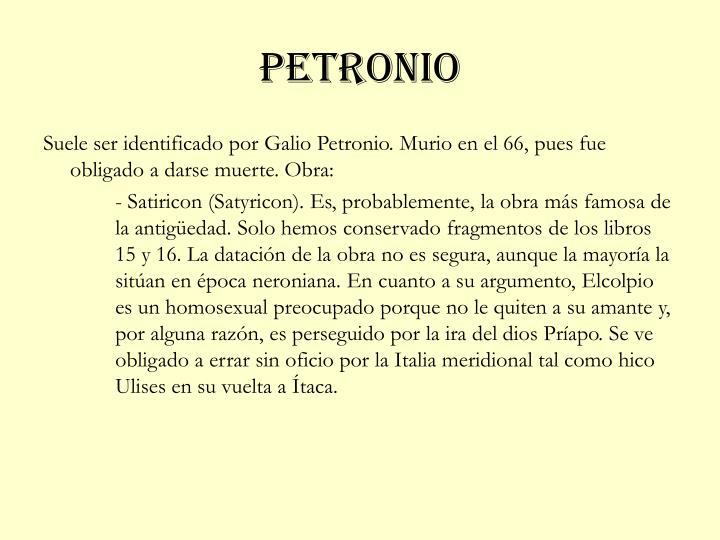 Petronio