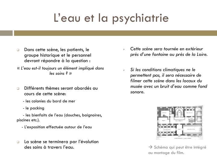 L'eau et la psychiatrie