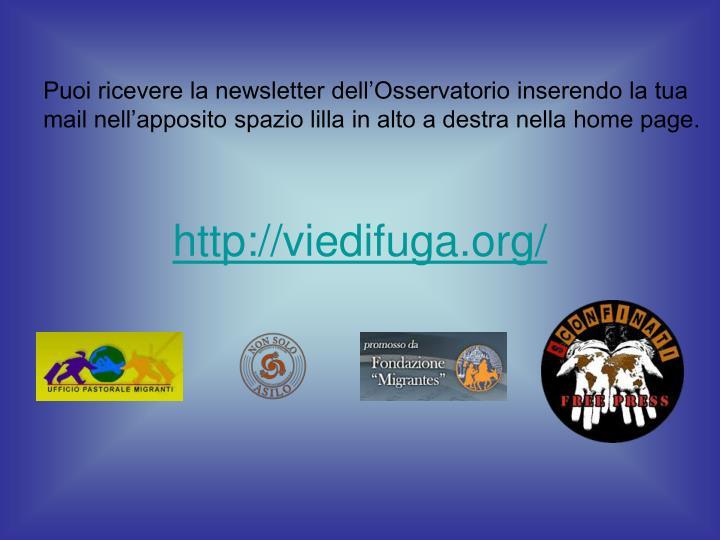 http://viedifuga.org/