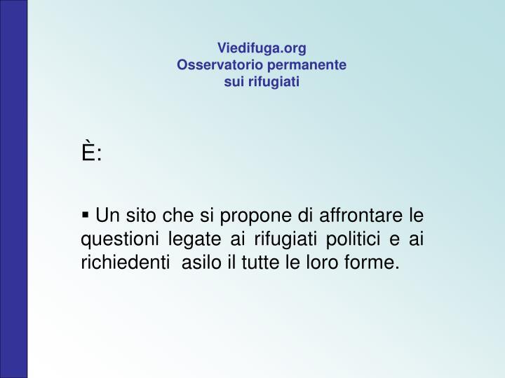 Viedifuga.org