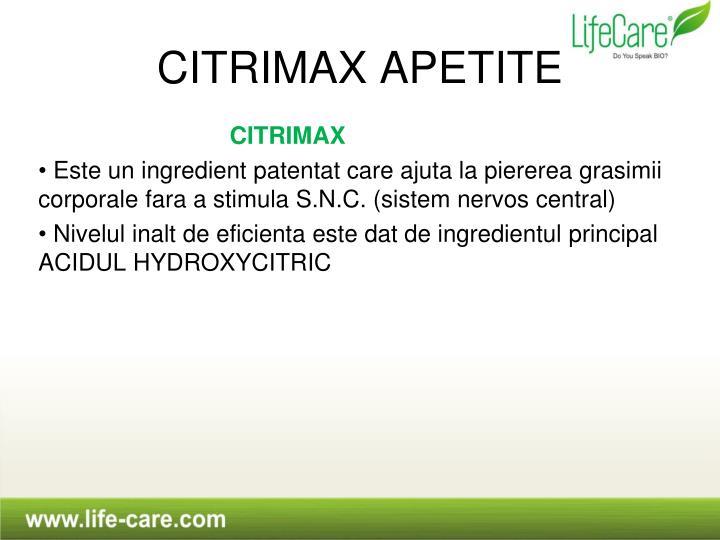 CITRIMAX APETITE