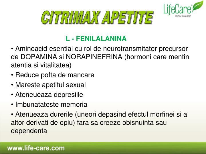 L - FENILALANINA