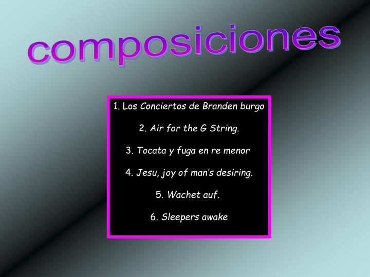 composiciones