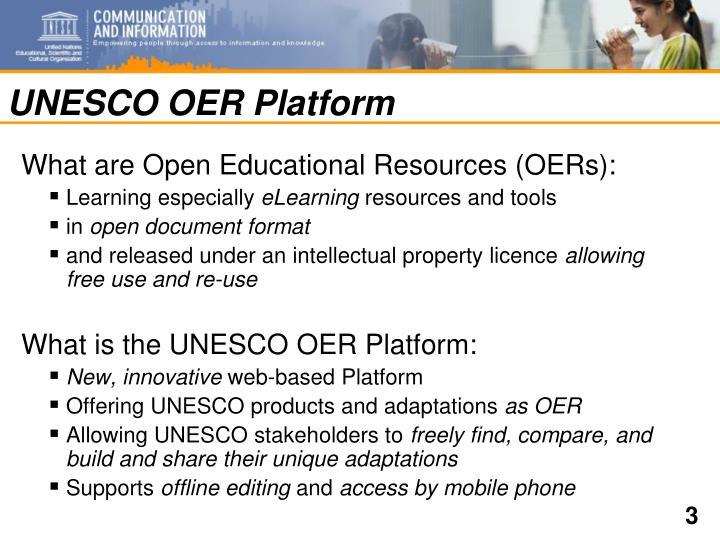 UNESCO OER Platform