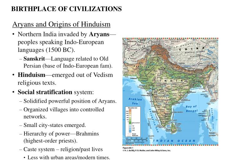 BIRTHPLACE OF CIVILIZATIONS