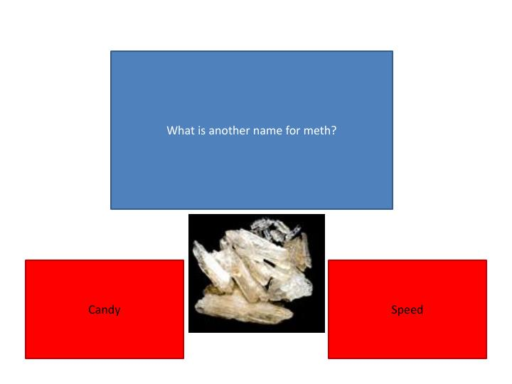 What is another name for meth?