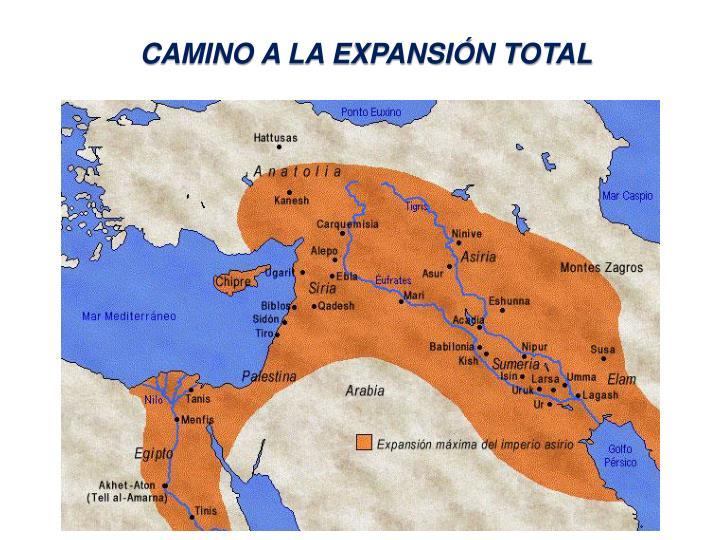 CAMINO A LA EXPANSIÓN TOTAL