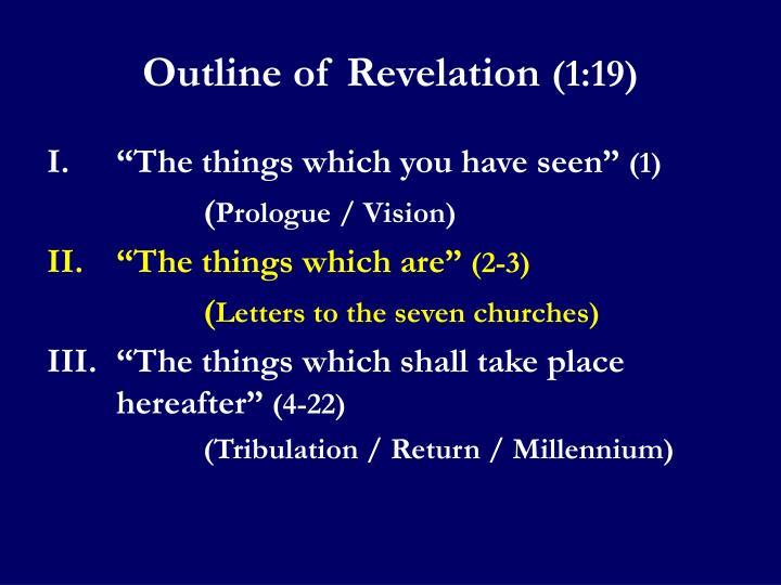 Outline of Revelation
