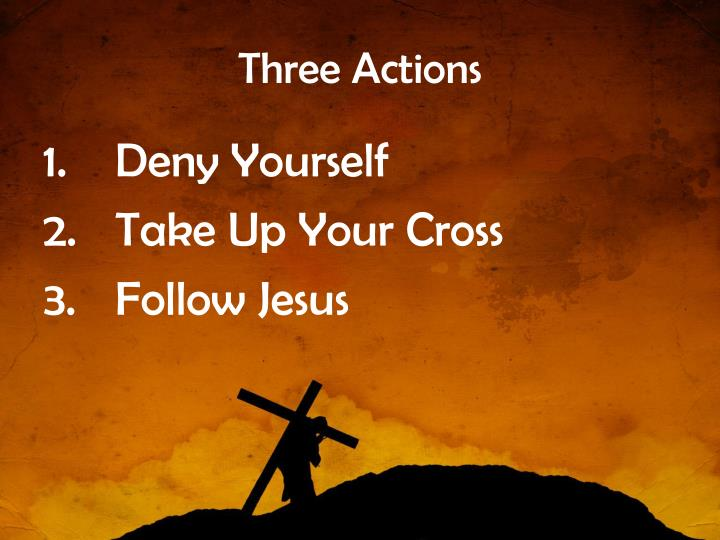 Three Actions
