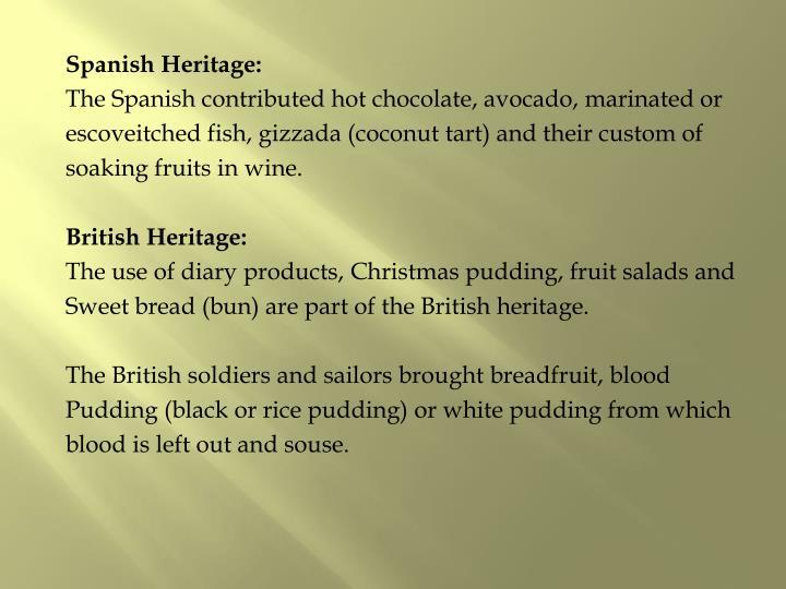 Spanish Heritage: