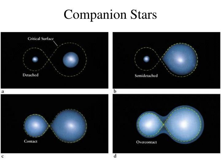 Companion Stars