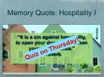 it is a sin against hospitality to open your doors and darken your countenance proverb1