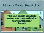 it is a sin against hospitality to open your doors and darken your countenance proverb3