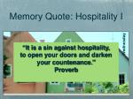 it is a sin against hospitality to open your doors and darken your countenance proverb4