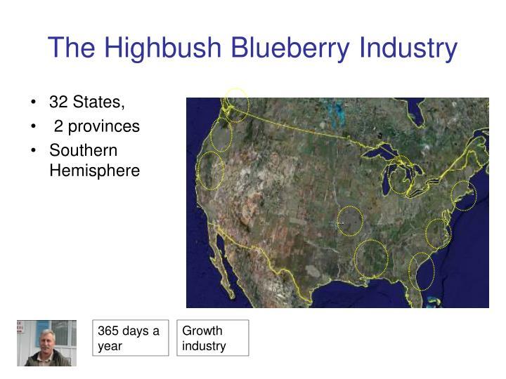 The Highbush Blueberry Industry