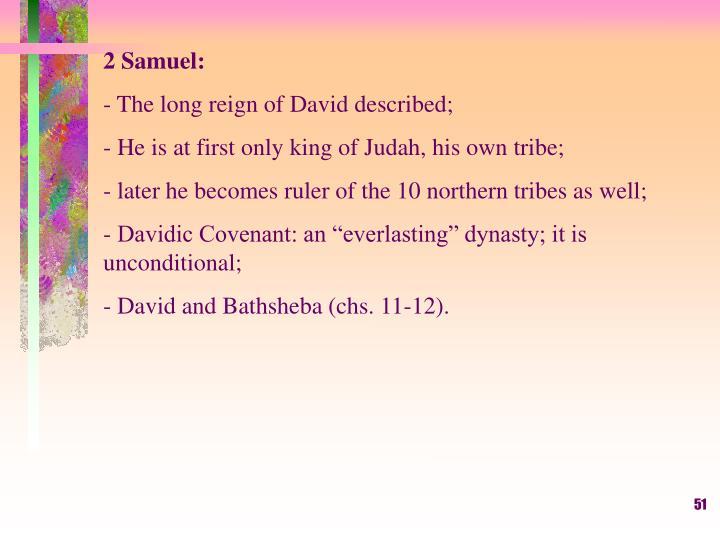 2 Samuel: