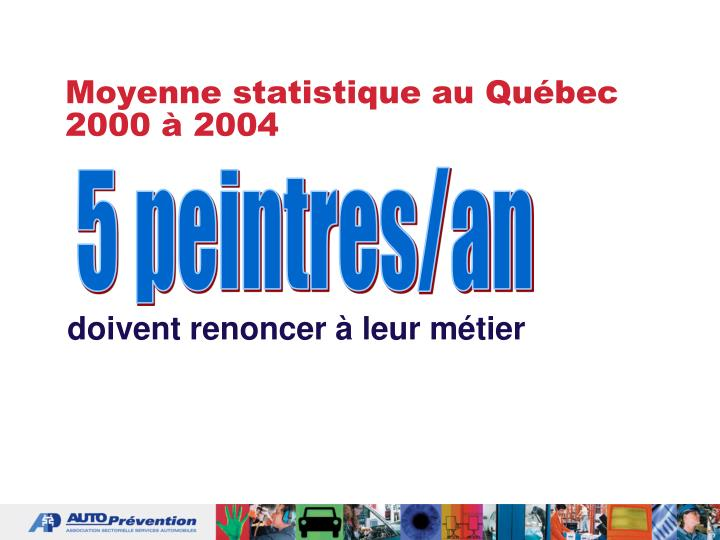 Moyenne statistique au Québec