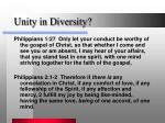 unity in diversity2