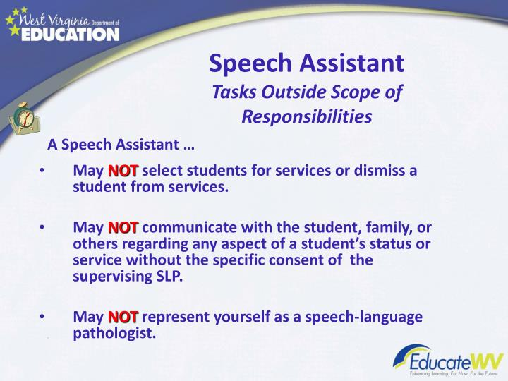 how to become a speech language pathologist assistant