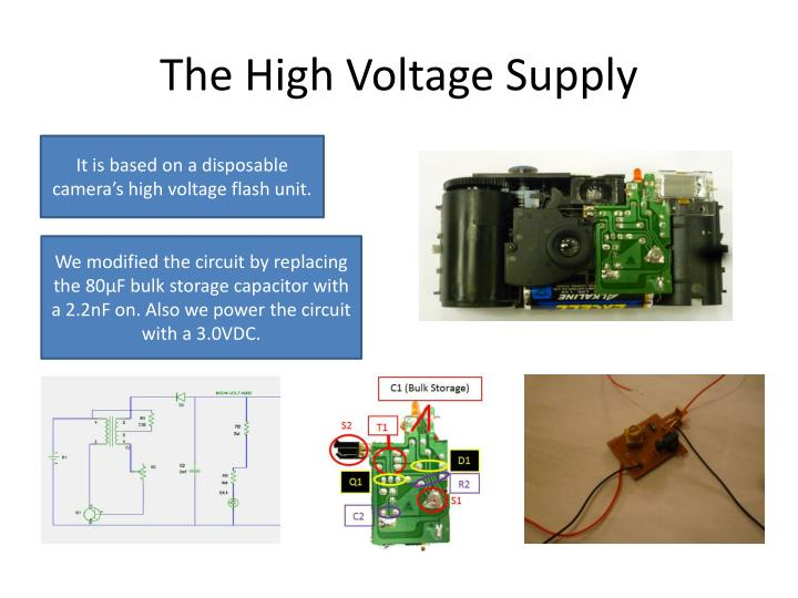 The High Voltage Supply