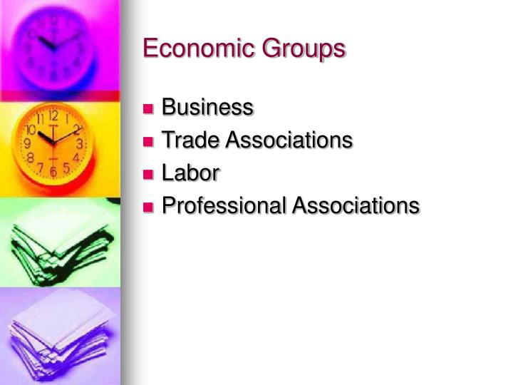 Economic Groups