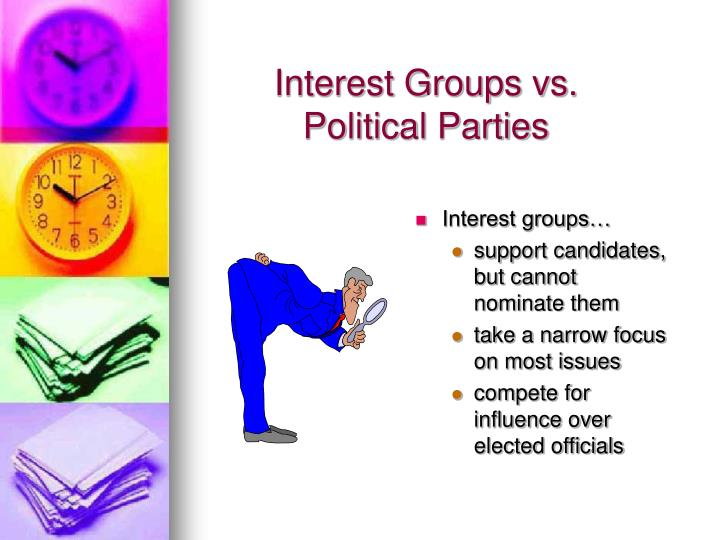 Interest Groups vs.