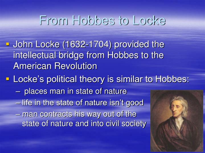 From Hobbes to Locke