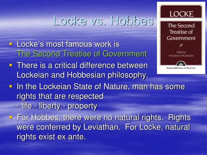 Locke vs. Hobbes