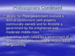 philosophers continued1