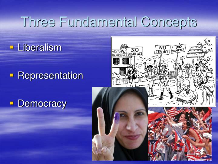 Three fundamental concepts