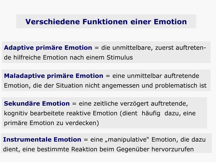 Instrumentale Emotion