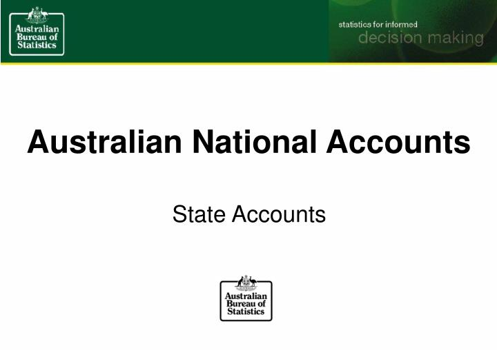Australian National Accounts