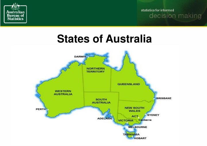 States of Australia